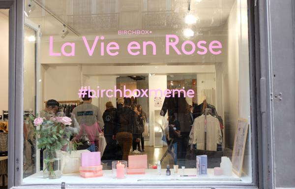 lancement marque Birchbox espace leon beaubourg